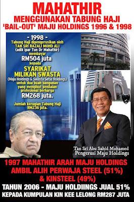 KTemoc Konsiders ........: Mahathir puts Pakatan in deep mire