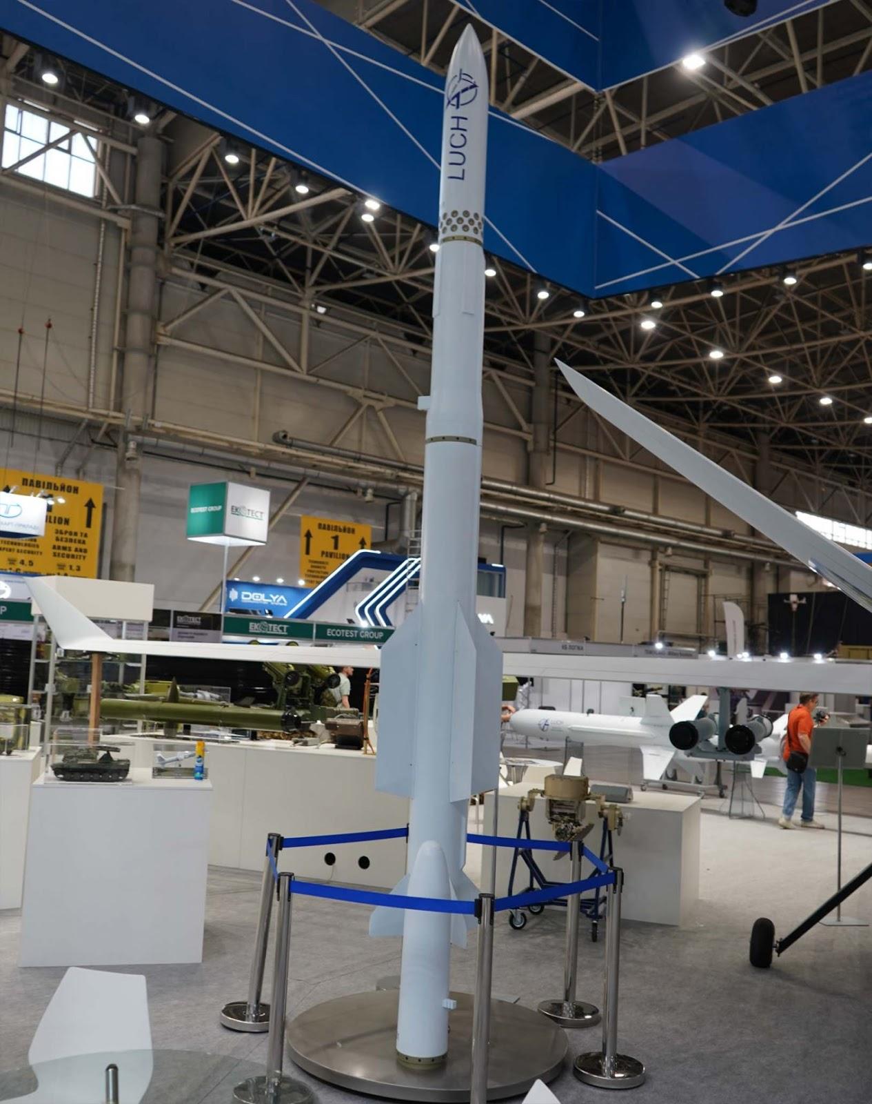 КБ Луч вперше покаже нову зенітну ракету Корал