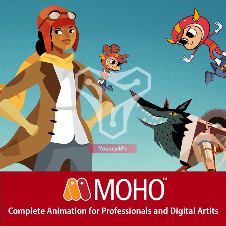تحميل برنامج موهو Smith Micro Moho Pro تصميم الرسوم المتحركة والأنيميشن