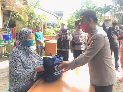 Warga Kelurahan Tengah Kecamatan Kramat Jati Akhirnya Dapat Bantuan