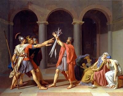 Jacques Louis David, El juramento de los Horacios