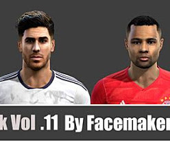 PES 2013 Facepack Vol. 11