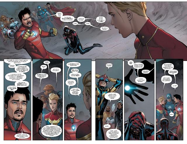 Review de Marvel Now! Deluxe. Civil War II de Brian Michael Bendis, Panini Comics.
