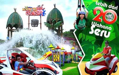 Wahana Permainan di Kampung Gajah Wonderland