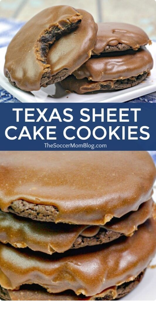 Texas Sheet Cake Cookies Ingredients
