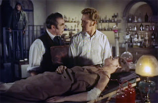 Laboratory scene, Blood of the Vampire (1958)
