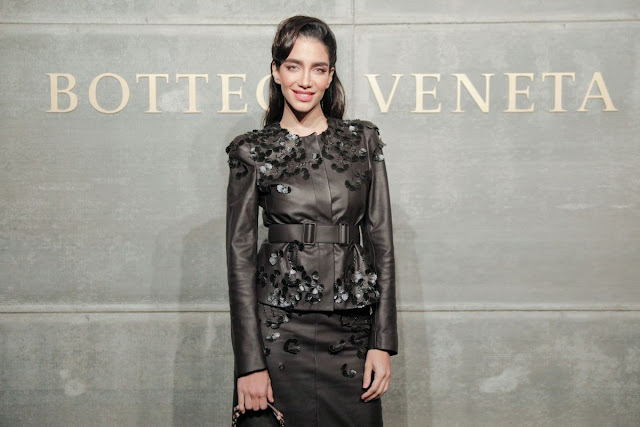 Jessica Kahawaty At Bottega Veneta Show At New York Fashion Week