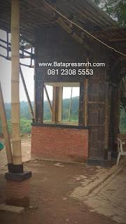 Bata Pres MRH Terkirim ke Prigen Pasuruan untuk proyek tempat wisata