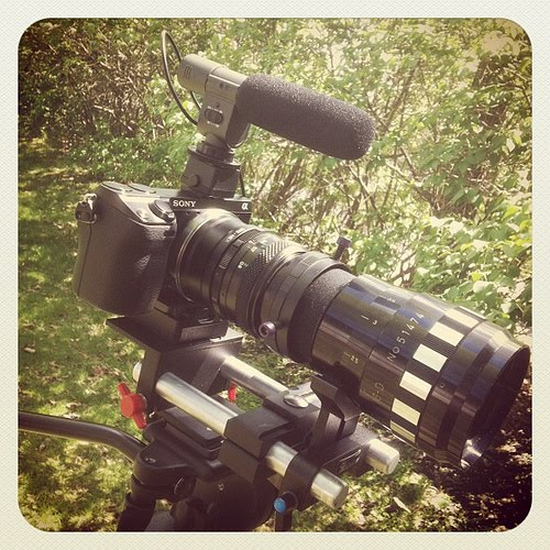 Sony NEX-7 with Anamorphic Lens Footage - Sony RX1R Full