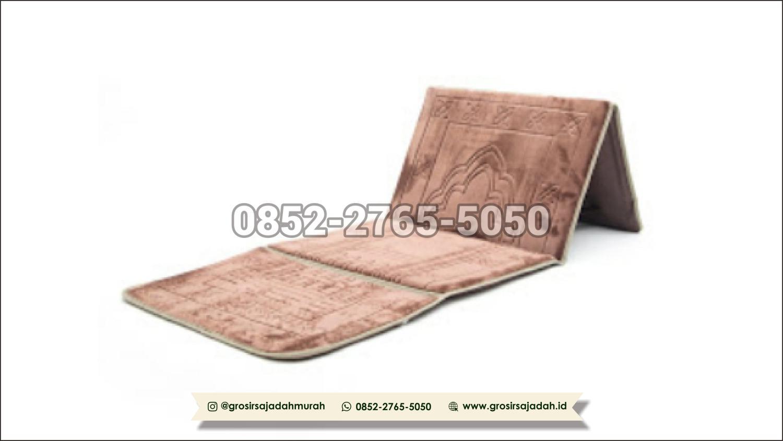sajadah sandar, grosirsajadah.id 0852-2765-5050