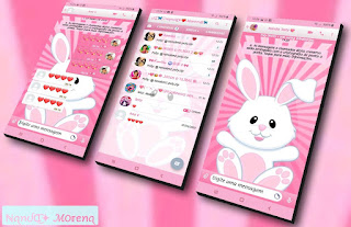 White Rabbit Theme For YOWhatsApp & Fouad WhatsApp By Nanda