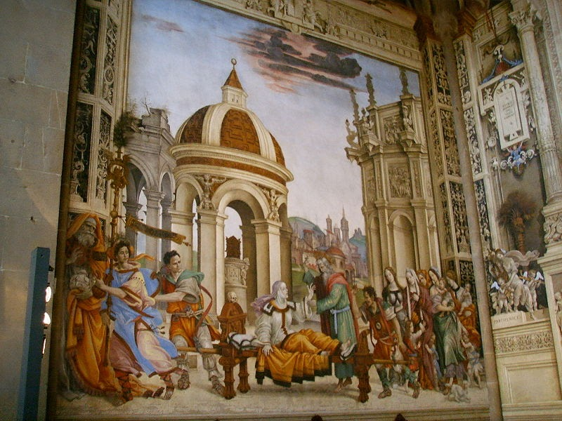 Basilica of Santa Maria Novella, chronologically it is the first great basilica in Florence.