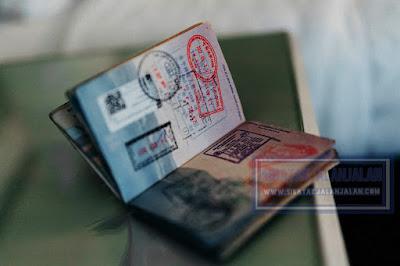 contoh dokumen visa dan atau passport