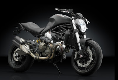 Ducati Monster 821 Side Front view HD Pose
