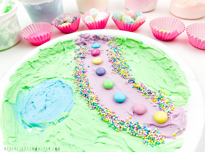 Edible art project for kids