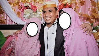 istri pertama turut antar suami menikah lagi
