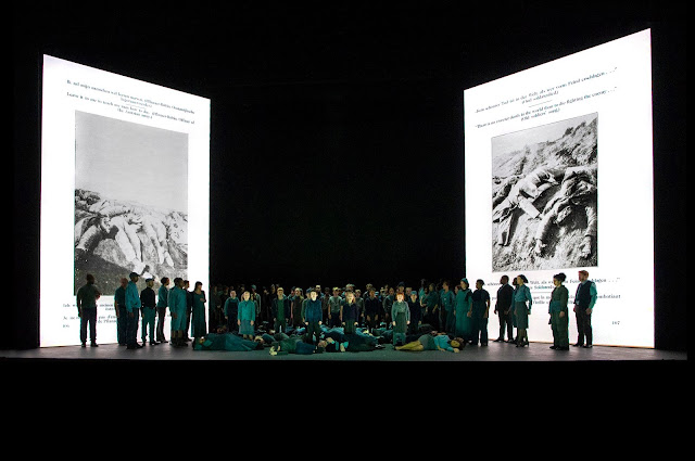 Britten:War Requiem -  English National Opera - (Photo Richard Hubert Smith)*