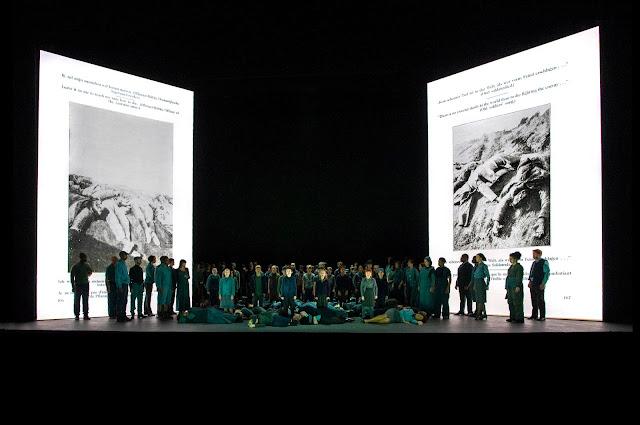 Britten:War Requiem -  English National Opera - (Photo Richard Hubert Smith)*