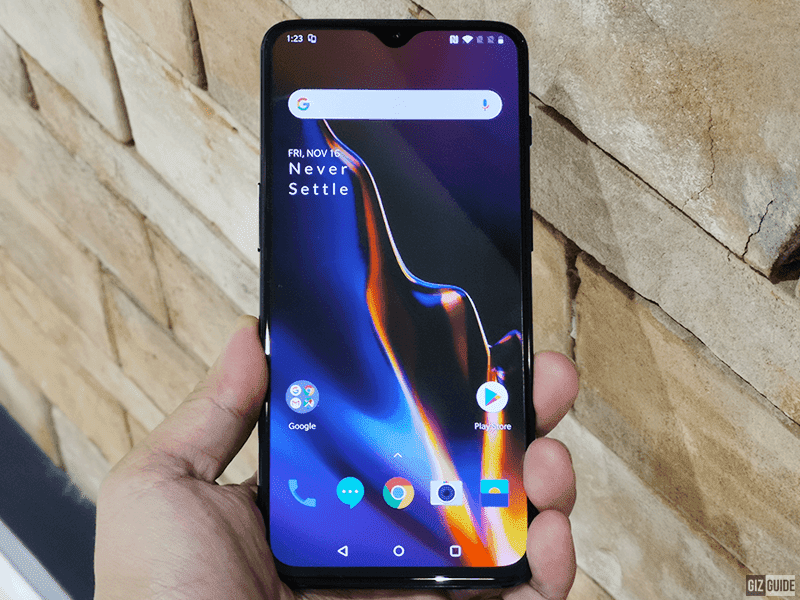 OnePlus 6T was launched on November 2018
