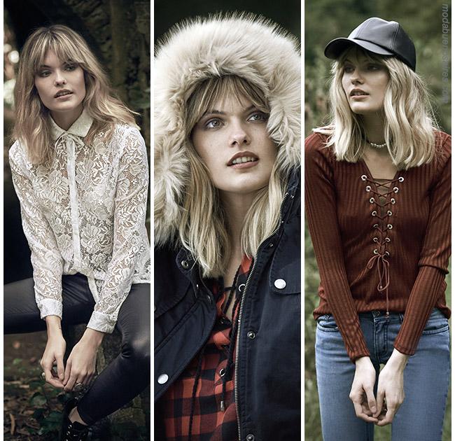 Moda invierno 2017 ropa urbana para mujer Sweet. Camperas, tapados, sacos, pantalones invierno 2017.