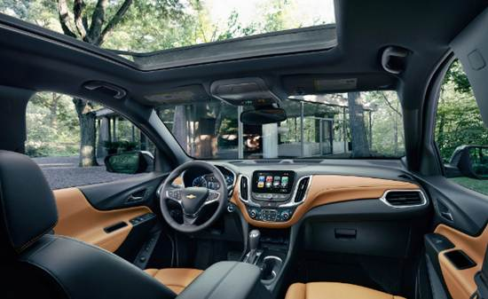 2018 Equinox Interior Design
