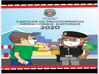 PM lança cartilha com procedimentos operacionais para Eleições 2020