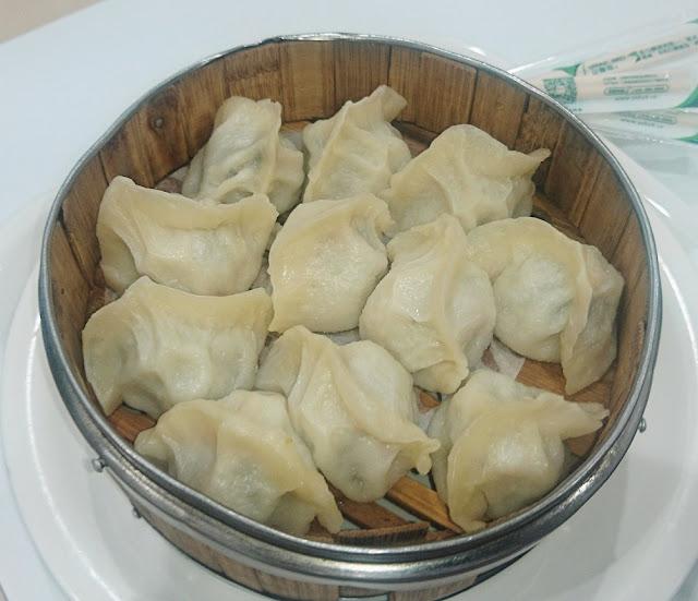 Dream Dumplings, Box Hill, egg garlic chives pork dumplings