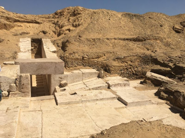 More on Remains of ancient pyramid found in Egypt
