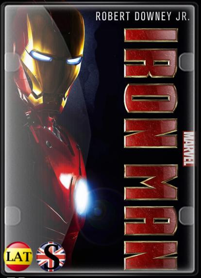 Iron man – El Hombre de Hierro (2008) HD 720P LATINO/INGLES