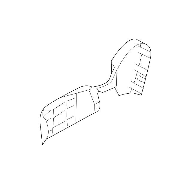 Ốp nhựa hông ghế phụ Mazda CX-5| KD48551H102