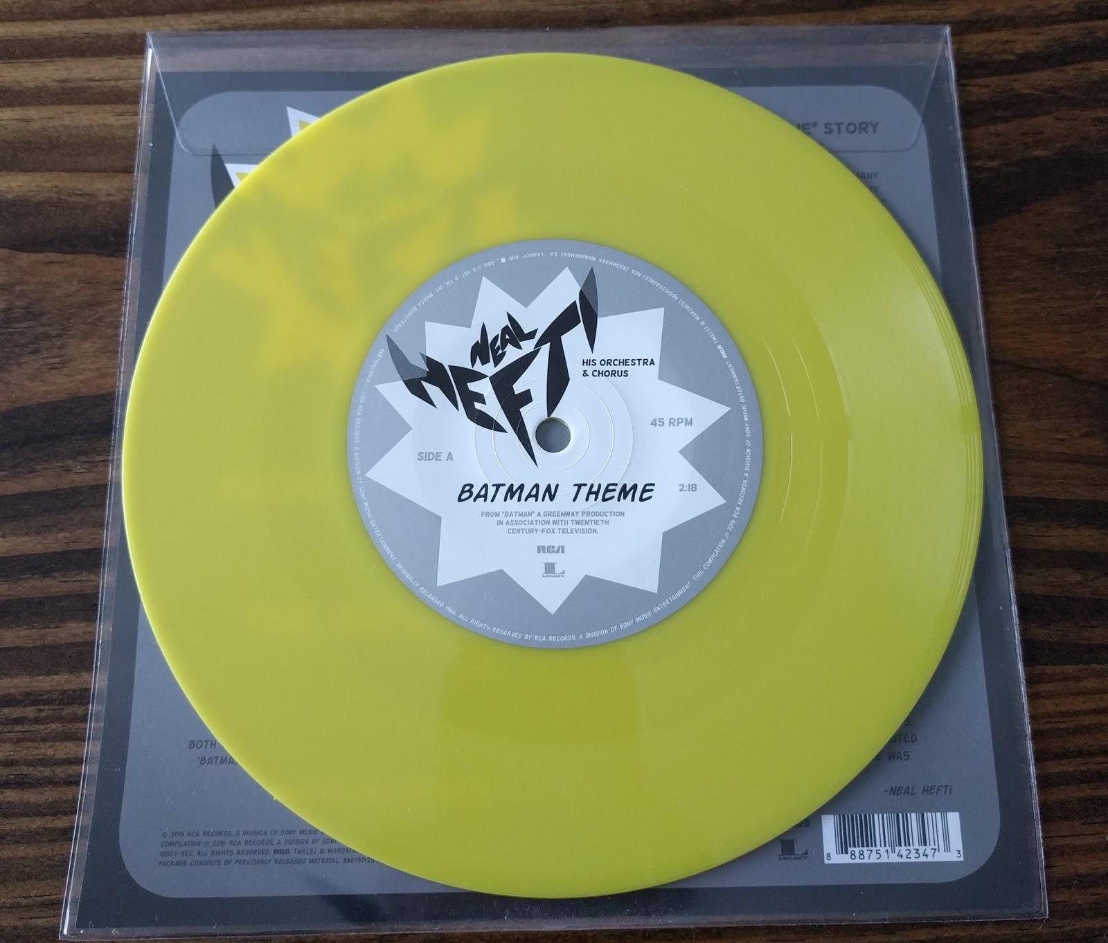Neal Hefti His Orchestra Amp Chorus Batman Theme The Batusi