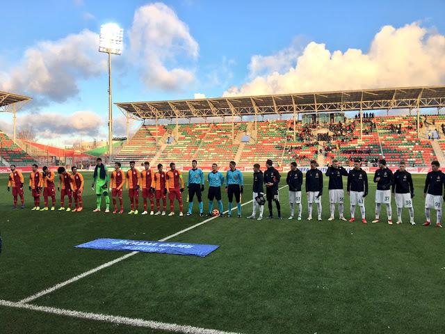 UEFA Gençlik Ligi | Rusya'da son dakika golüyle güldük!