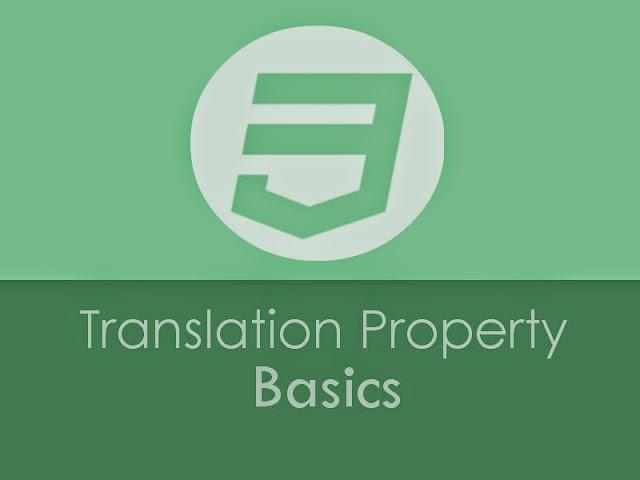 Belajar Dasar Transition Property untuk Blogger