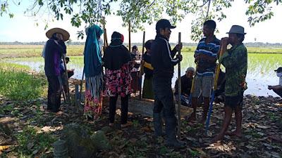 Warga di Desa Wanio Timoreng Gelar Acara Mappadendang