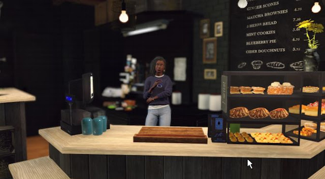 Nancy Drew: Midnight in Salem - Cafe