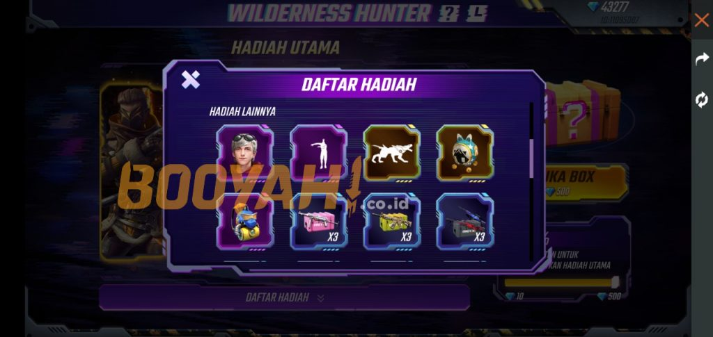 event Wilderness Hunter
