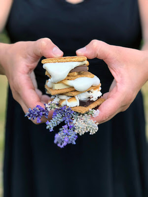 Lavender Chocolate S'Mores