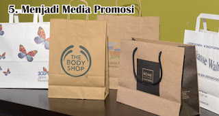 Menjadi Media Promosi merupakan efek memberikan kemasan produk berkualitas