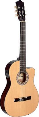 Đàn guitar classic Stagg C546TCEN