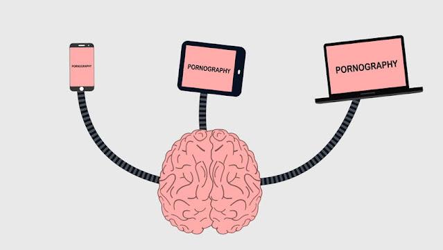 تأثير المواد الإباحية على الدماغ