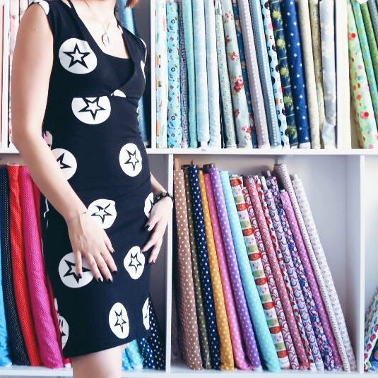 GrinseStern, Kleid, nähen, selbermacher, pattern, diy, grinsestern der laden