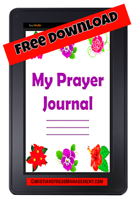 Free Digital Download Prayer Journal