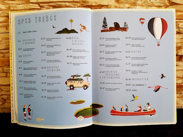 Atlas Cudów Świata - Nasza Księgarnia - książki dla dzieci - książki dla młodzieży