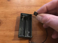 Removing the terminal and wire