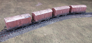 railway scenery in TT gauge