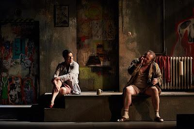 Verdi: Falstaff - Daniela Barcellona, Michael Volle - Staatsoper Berlin (Photo: Matthias Baus)