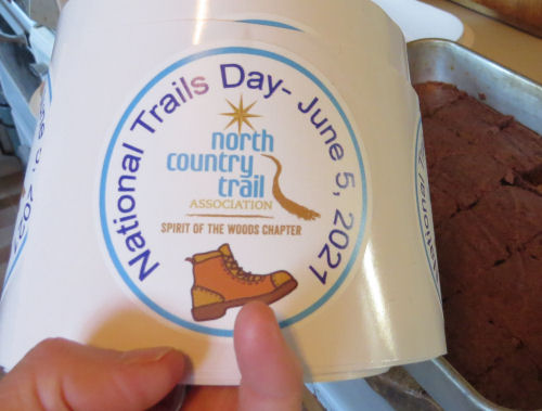 National Trails Day stickers