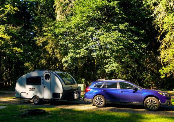 Tiny trailer camping, Safari Condo Alto