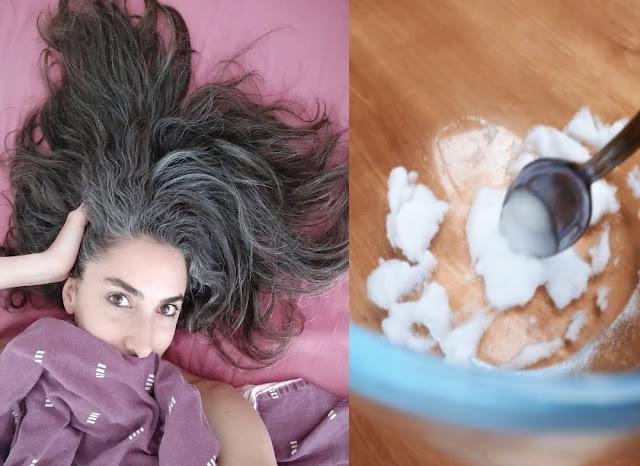 Recette de bicarbonate de soude contre les cheveux gris et la perte de cheveux
