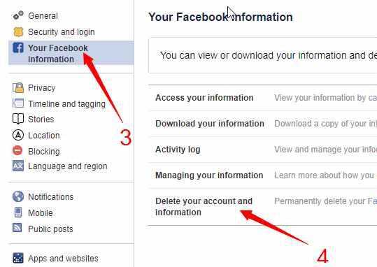 your-facebook-information